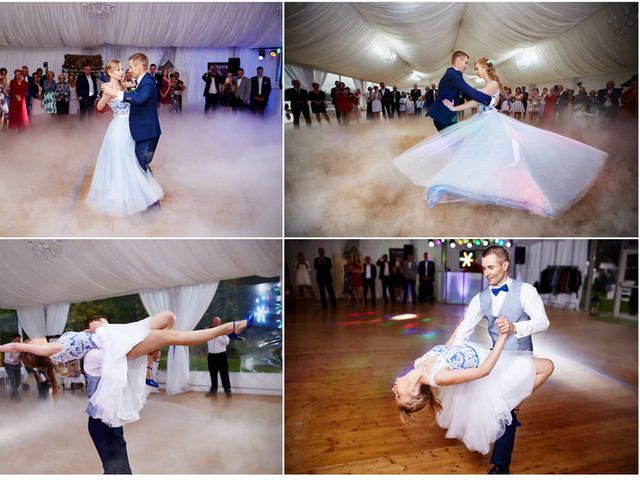 pierwszy taniec na fotografii ślubnej Suwałki Olecko Augustów