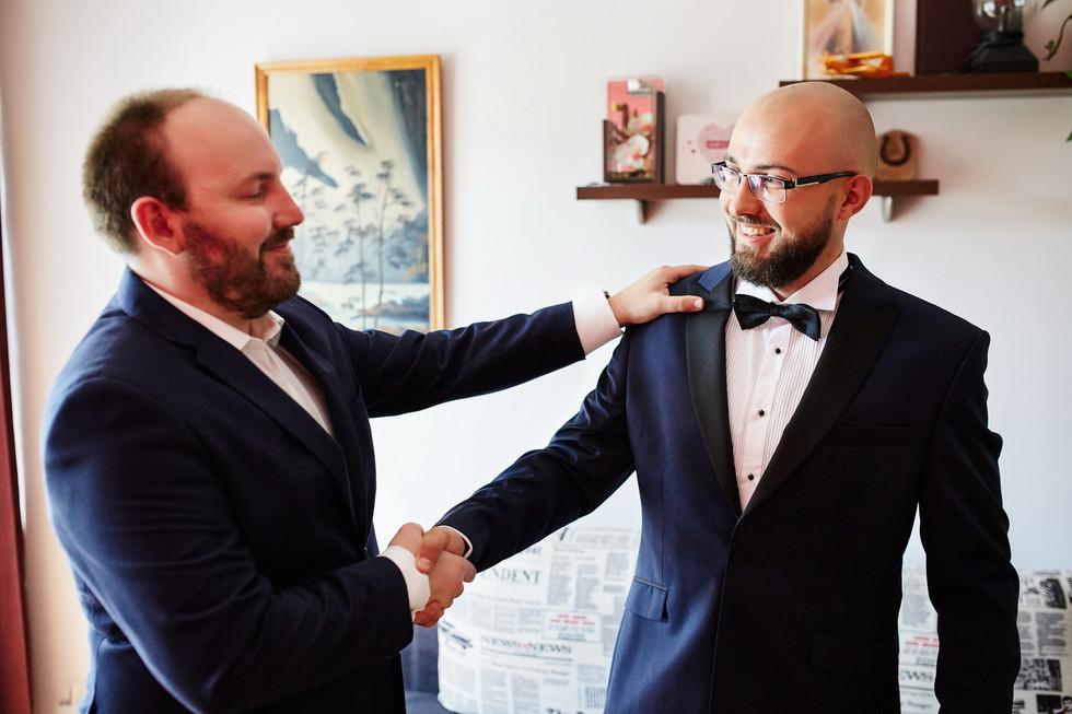 świadek na ślubie - Olecko fotograf