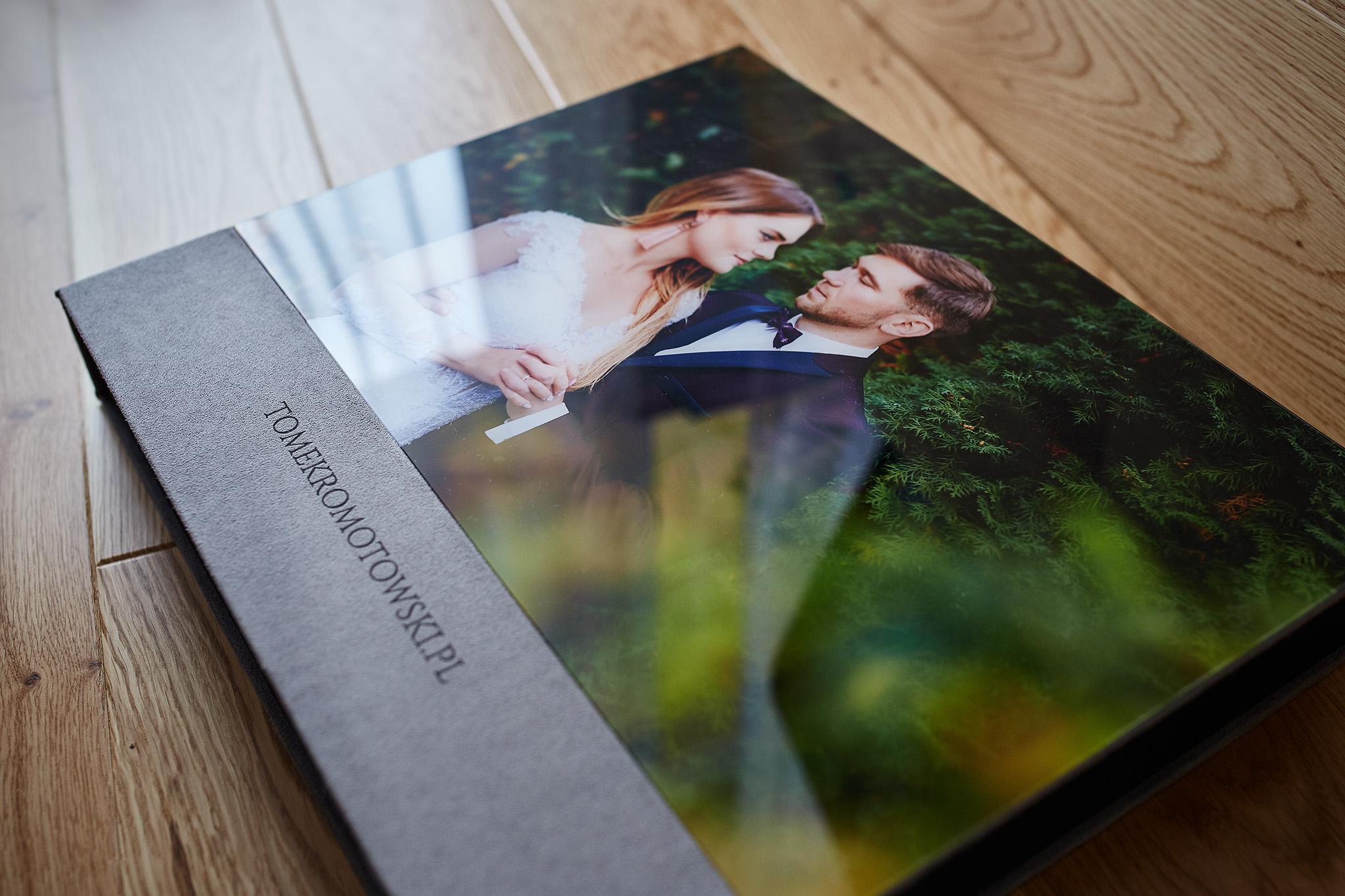 fotoalbum ślubny akryl 30x30 pudełko pendrive olecko suwałki