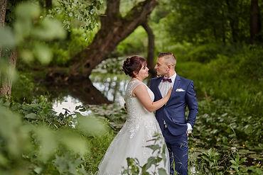 Ślub i plener Gołdap Asia i Rafał