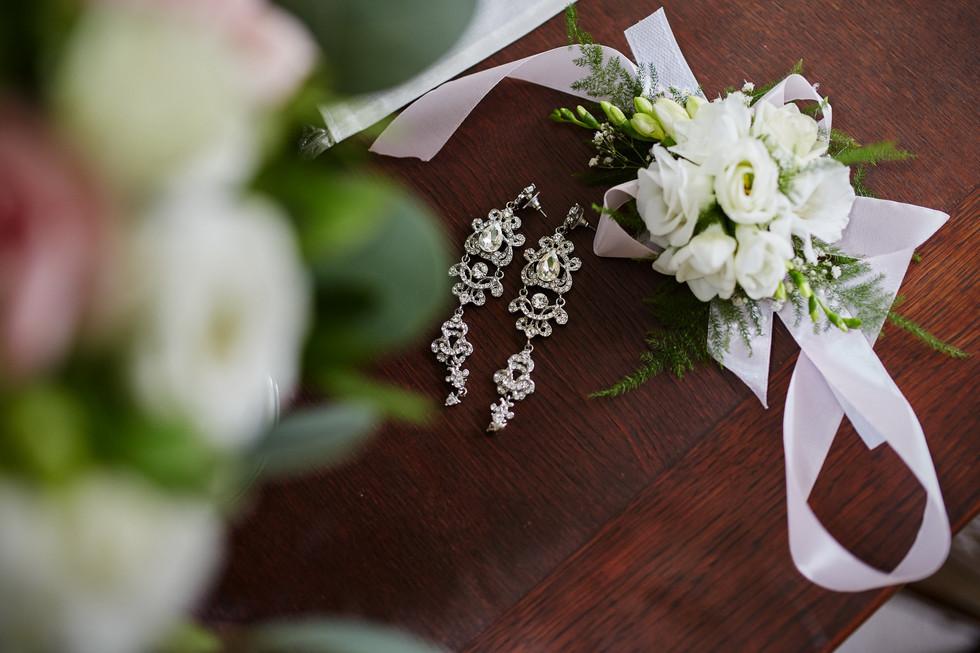detal na ślubie -fotograf z Olecka