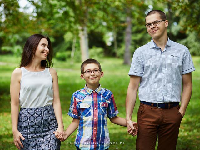 sejsa rodzinna Olecko fotograf