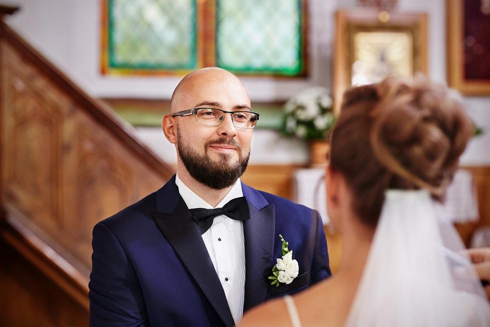 przysiąga małżeńska w Kościele Olecko Suwałki