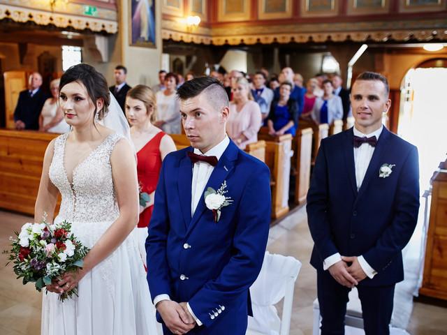 para młoda w kościele- fotograf Suwałki Olecko Augustów