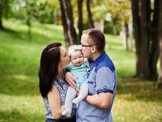 rodzina z dzieckiem foto