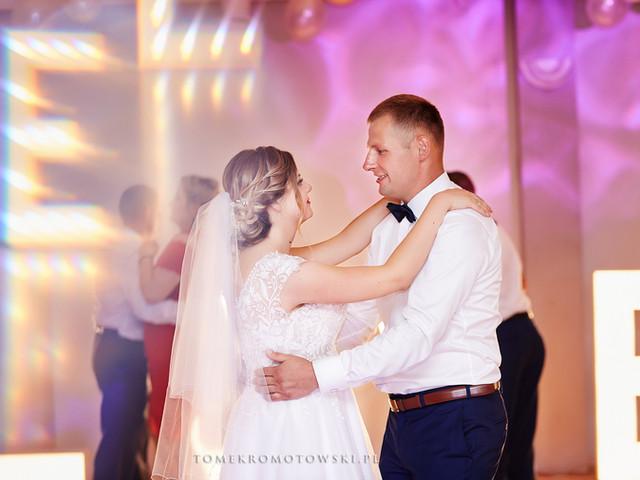 taniec pary młodej fotograf