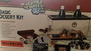 Free Reptile Tank Kit!