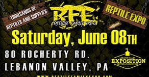 Reptile Family Expo Super Show 6-8-19