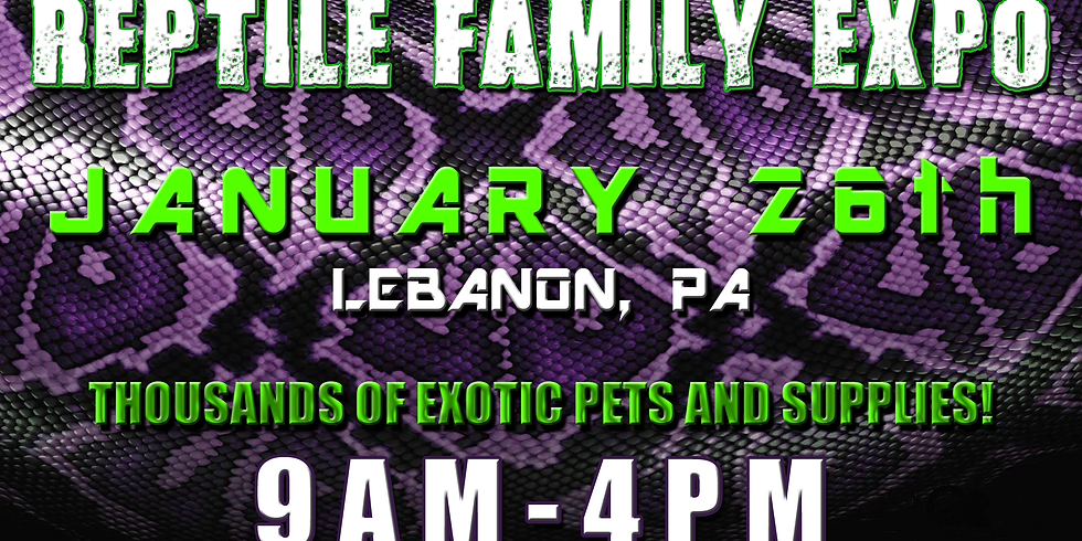 Reptile Family Expo