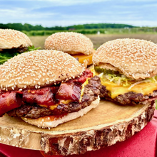 Burgers at The Lookout