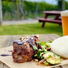 porkshanks_ricebuns_hayloft_beer.jpg