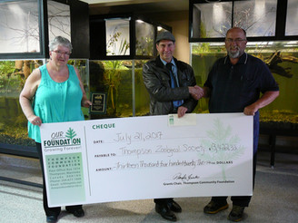 2017 Grant - Thompson Zoological Society