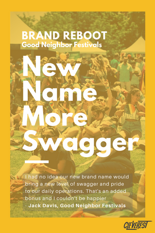 Brand Reboot: Creating the perfect name for Good Neighbor Festivals