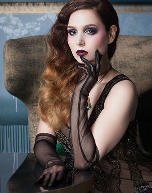 Scarlett Diamond portrait égerie de l'hotel Nolinski à Paris