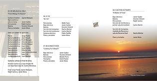 """Créditos de """"De Málaga al Cielo"""", """"A 150"""", """"Buscando Playa"""" y """"Cuestión de Tiempo"""""""
