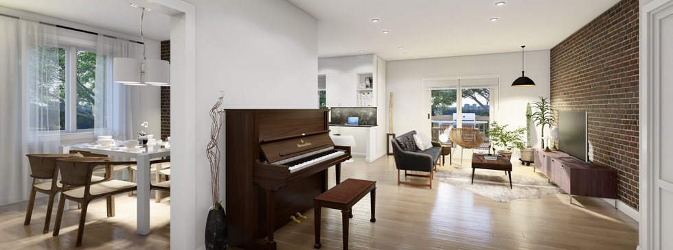Family room and Livingroom