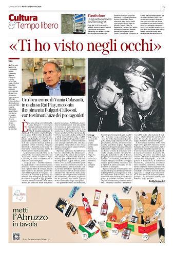 Corriere della Sera - Ti ho visto negli