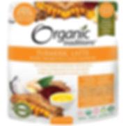 Organic Tradition_ Latte de curcuma avec safran