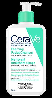 CeraVe - Nettoyant moussant visage