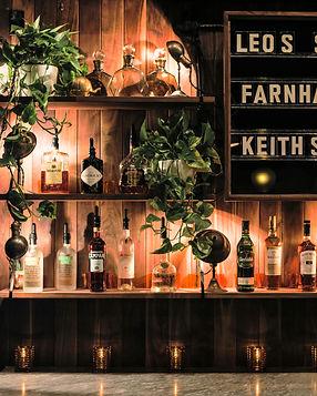 Léo's Taproom bar