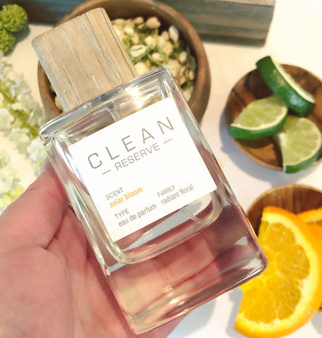 Solar bloom et son air d'été - La nouvelle eau de parfum printemps 2019 de CLEAN Reserve