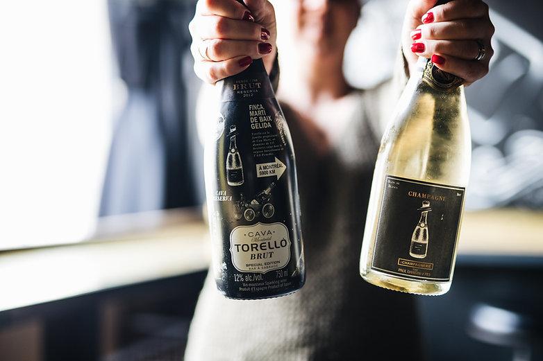 La Champagnerie_Cuvée Make It Pop & Cuvé Sabrée