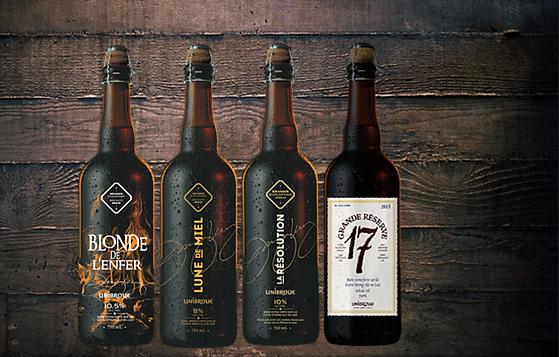 Les brassins d'exception - Les bières à haut potentiel de vieillissement d'Unibroue