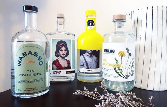 4 nouveaux gins à apprécier ce printemps - Des effluves de nature florissante