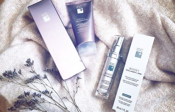 IDC Dermo lance deux nouveaux soins de la peau - Boost Collagen Pro et Profil Celluminceur
