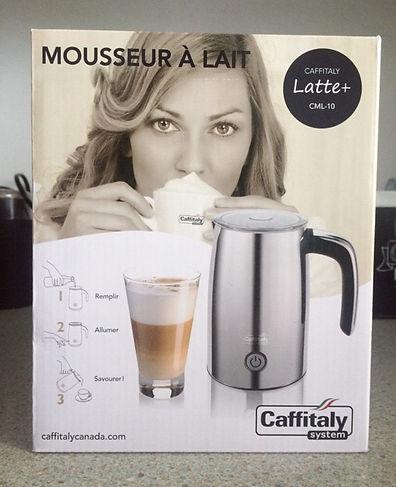 Boîte Moussoir Latte+ Chrome de Caffitaly