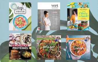 6 livres de recettes frais et colorés - Bien manger, ce n'est pas plate du tout!