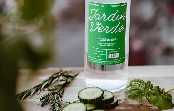Jardin Verde, une oasis rafraîchissante - Un gin léger et poétique comme la rosée du matin