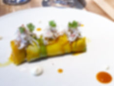 Chez Sophie - Crabe des neiges, mayo yuzu, mangue et avocat