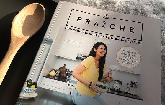 Livre de cuisine La Fraîche