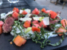 Pizzeria Caldo_Antipasto - Tataki de bavette de boeuf