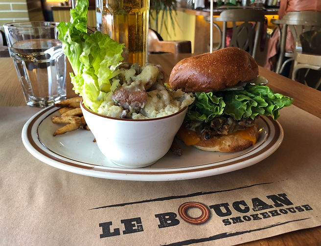Le Boucan - Assiette sandwich Albama