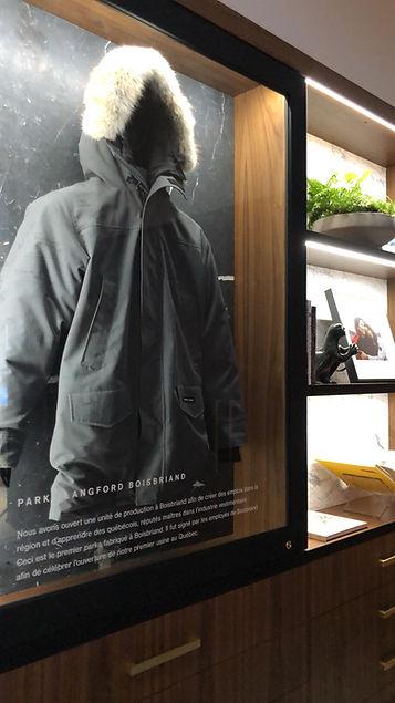 Boutique Canada Goose de Montréal - Événement de préouverture