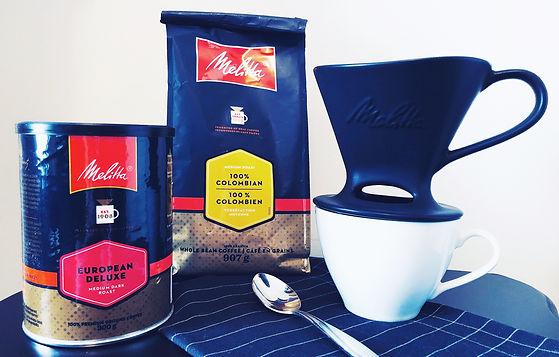 Le café en cuisine avec Melitta
