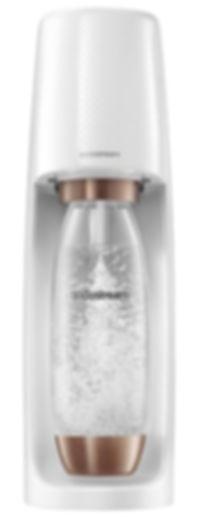 SodaStream - Fizzi Glo édition spéciale blanche et rose dorée