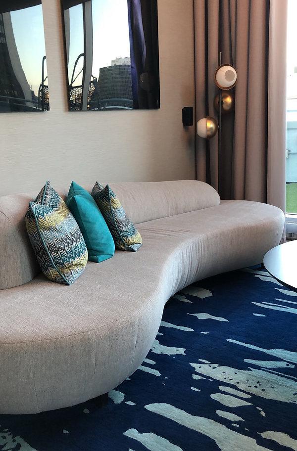 W Montréal - Suite Extrême Wow - Canapé lounge