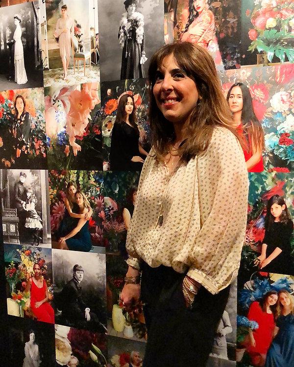 Portrait de la photographe Marisa Portolese