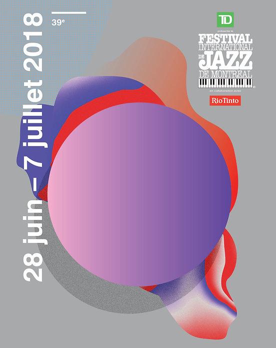 Festival International de Jazz de Montréal - Affiche 2018