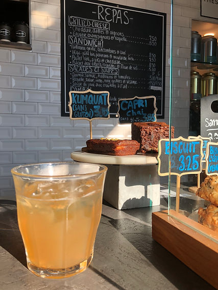 Bristol Chai - Comptoir