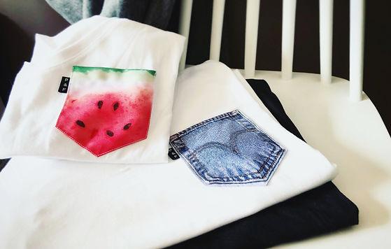 Prolonger l'été avec Poches & Fils - Des t-shirts aux poches colorées et fraîches à souhait