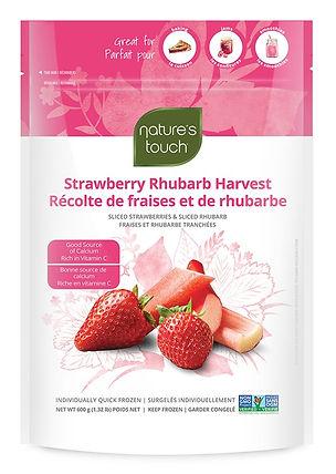Nature's Touch_Récolte de fraises et de rhubarbe