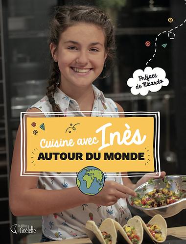 Livre_Cuisine avec Inès autour du monde