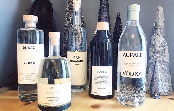 Meilleures vodkas québécoises