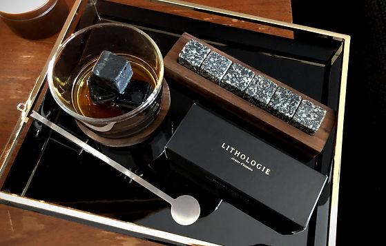 Lithologie | Pierres à whisky - Déguster les spiritueux ambrés avec style