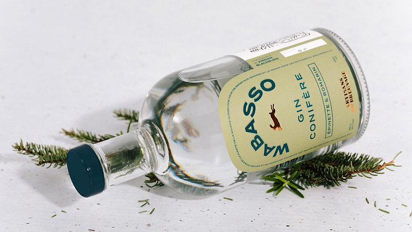 Distillerie Wabasso - Gin Conifère
