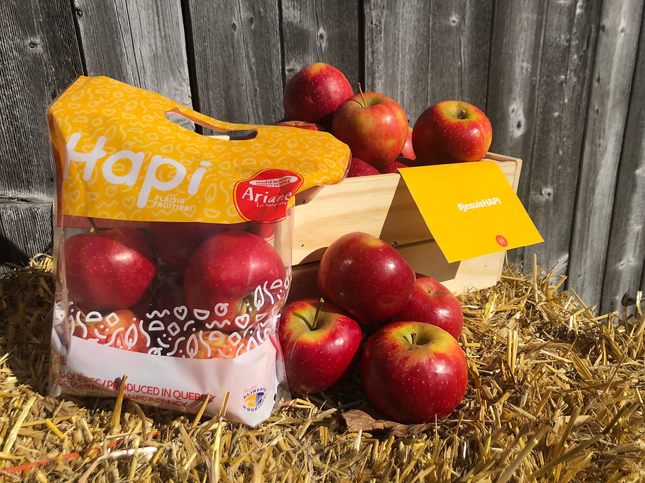À la rencontre d'Ariane, la pomme écoresponsable